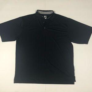 FootJoy men's navy blue polo shirt